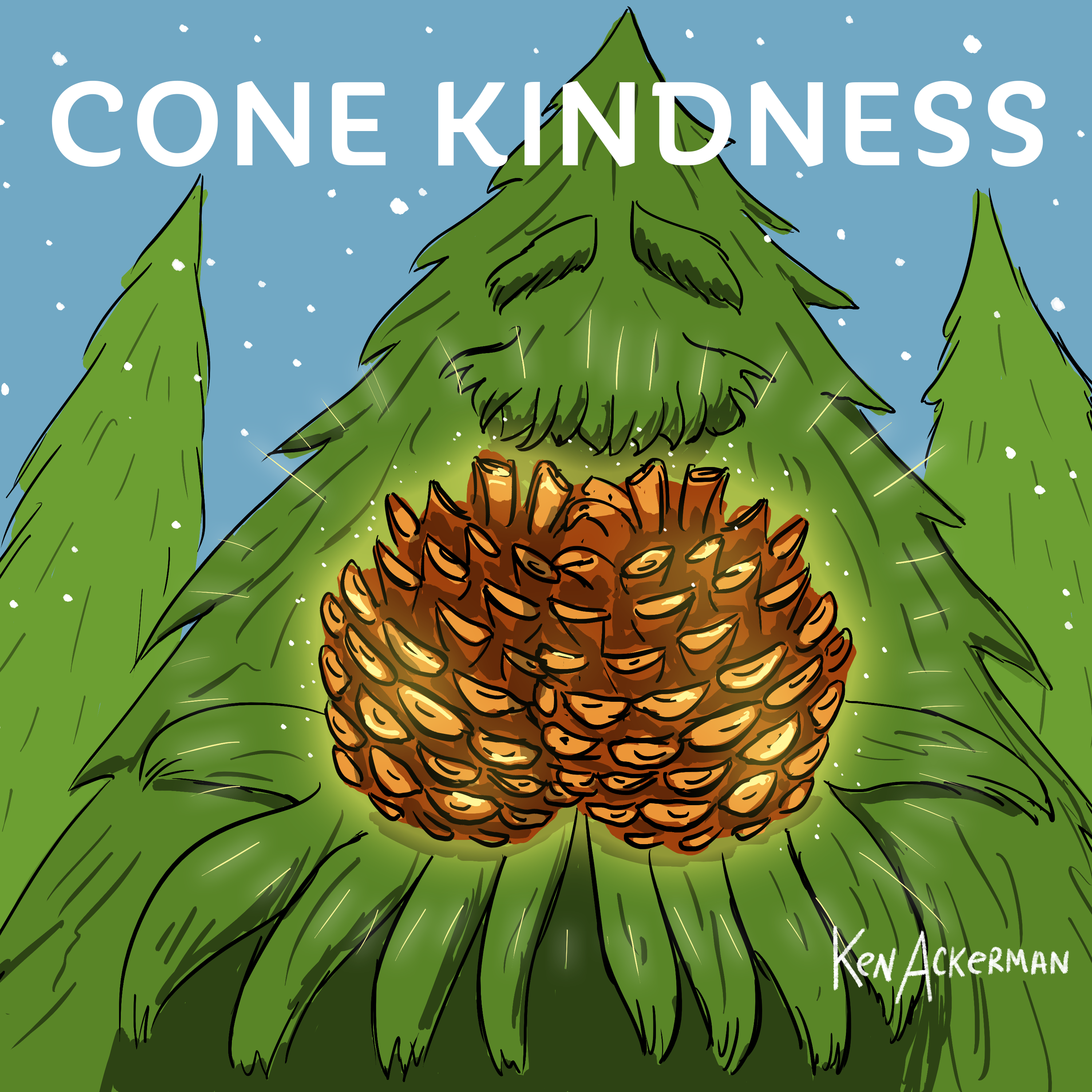836 - Tribute Tree and Cones of Kindness