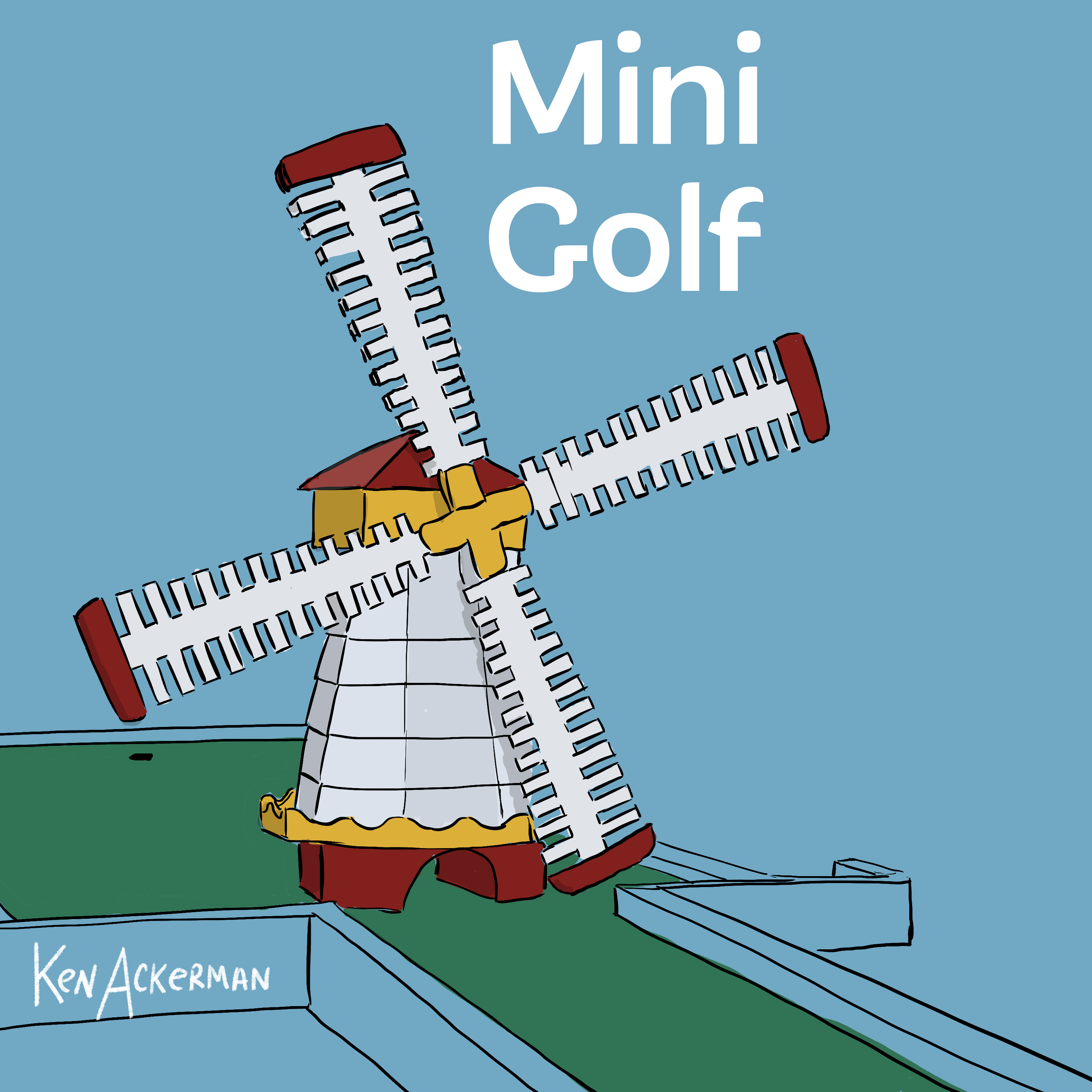 843 - Mini Golf Memories