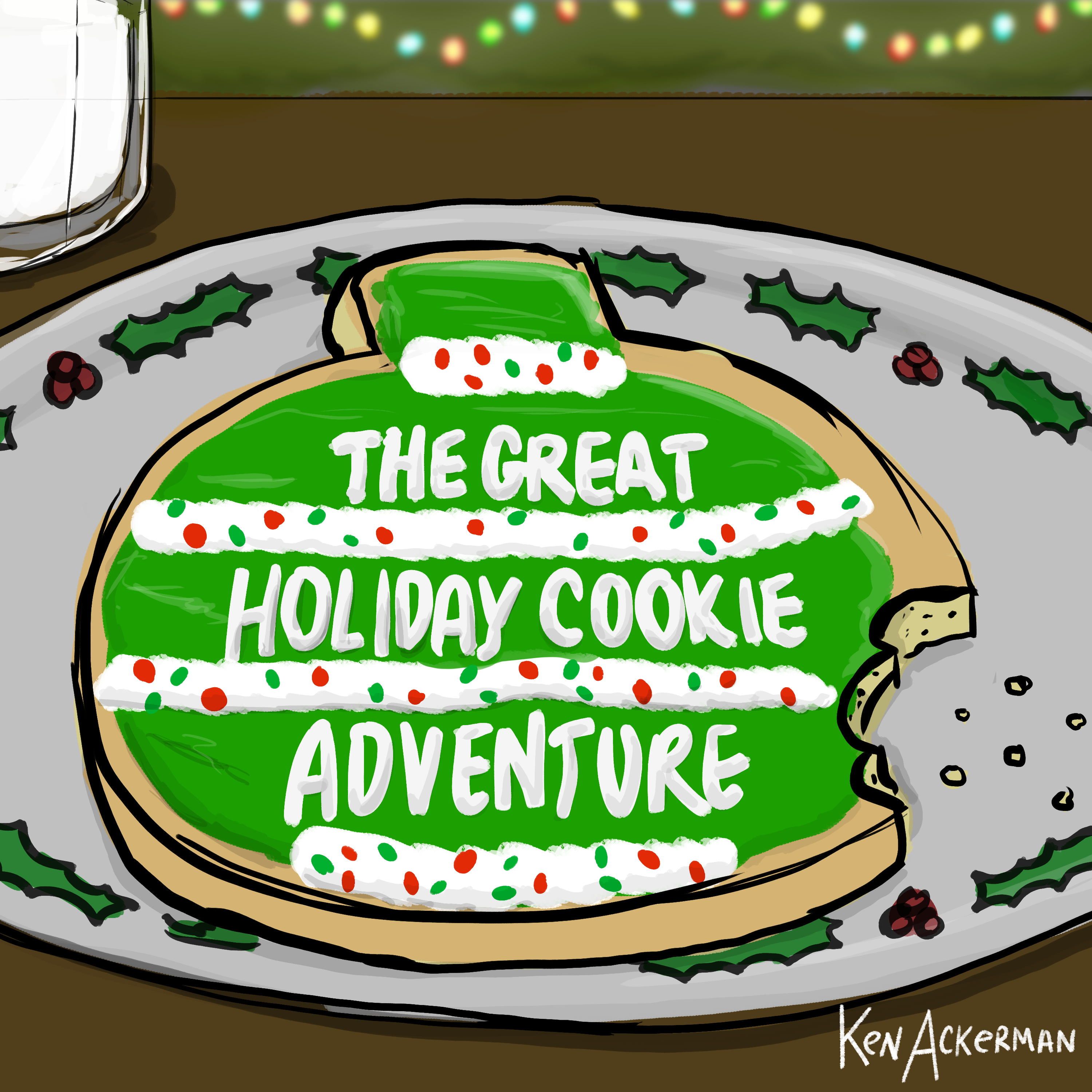 835 - Yule Log Tourist | The Great Holiday Cookie Adventure Ep3