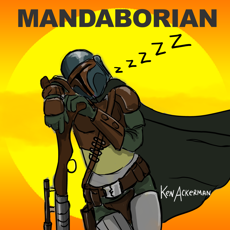 845 - The Gumchewer | Mandoborian on Mandalorian Ep5