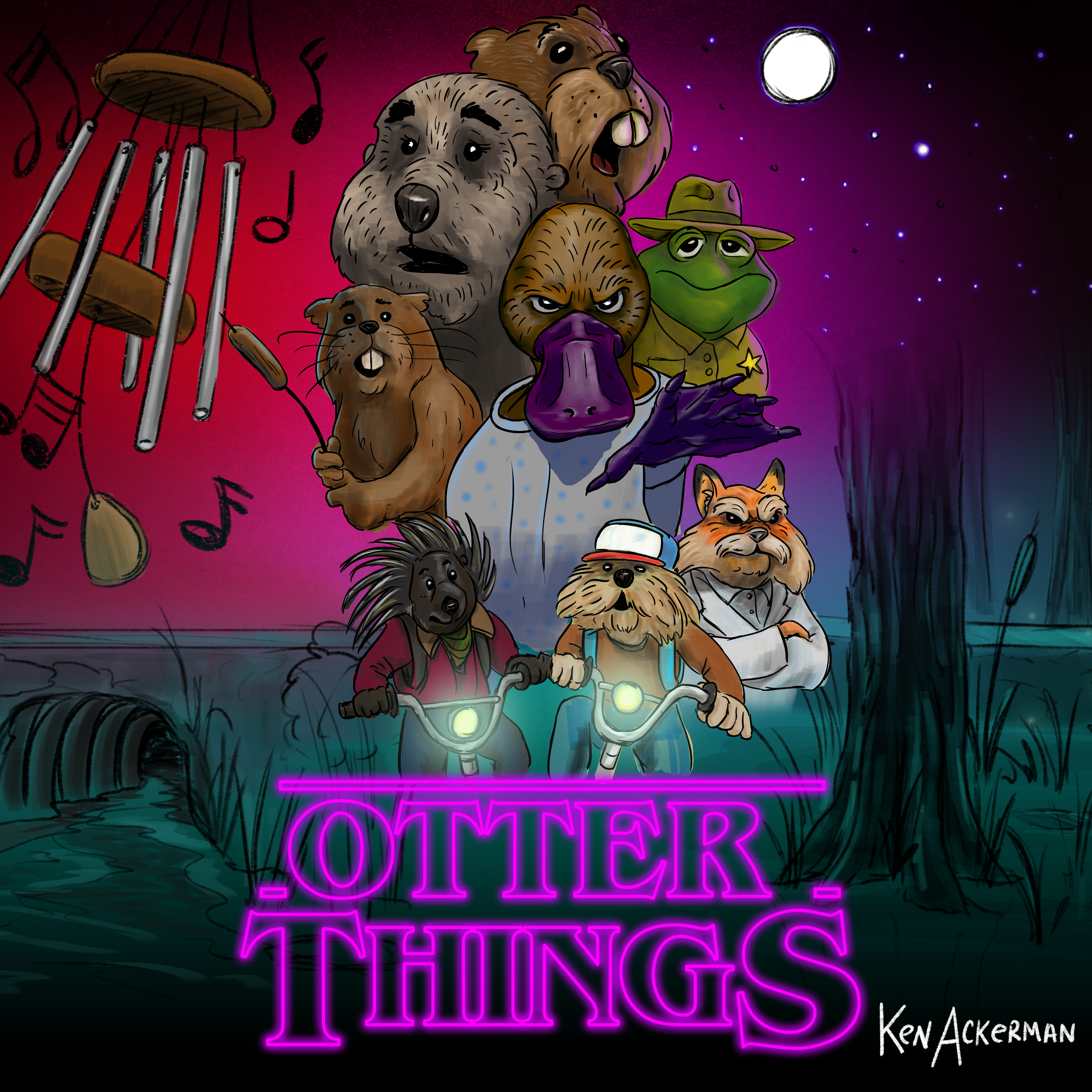 885 - Bards and Big Bunnies | Otter Things Ep1